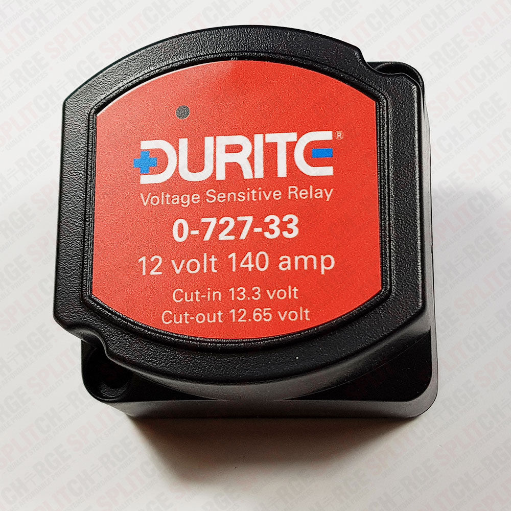 12 Volt Voltage Sensitive Relay Mlacr Automatic Charging With Manual Control 12v Dc 500a Durite 072733 140 Amp Splitcharge