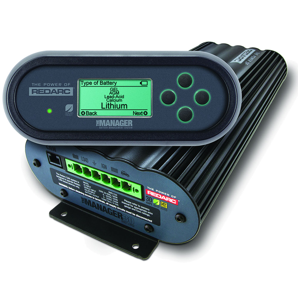 Marine Battery Management System : Redarc themanager complete battery management system