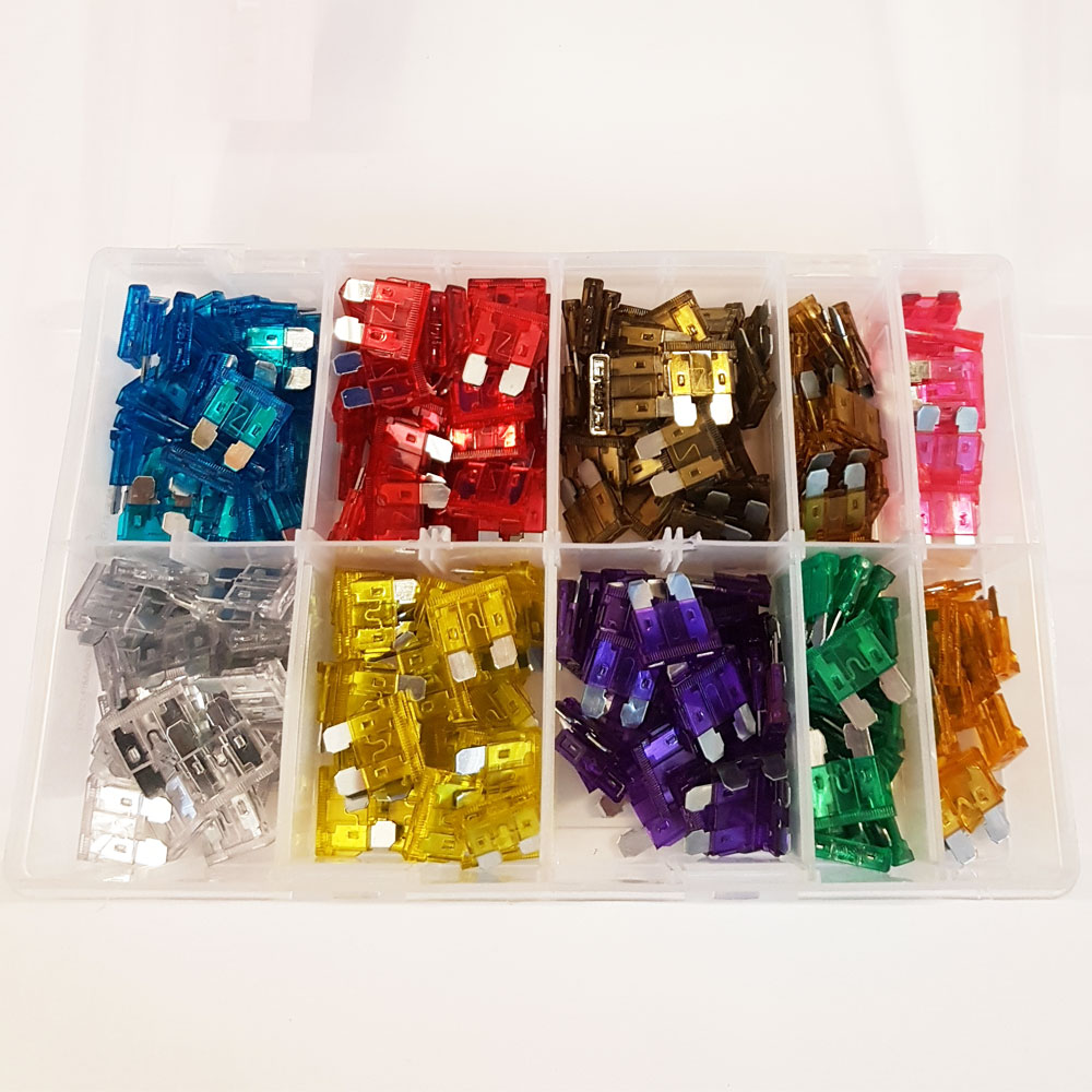 Assorted Standard Blade Fuse Box  250