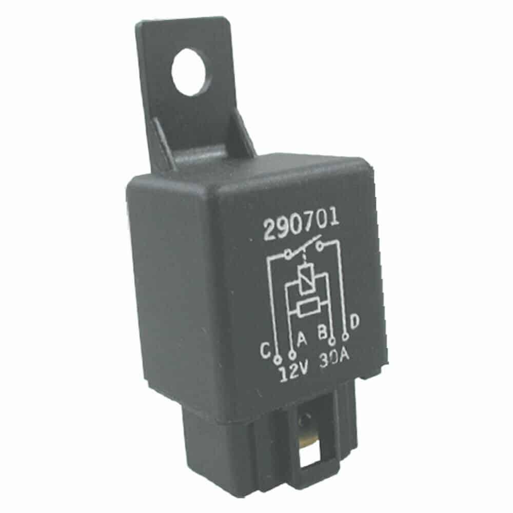 Relay 12v 30a Japanese Type Resistor Relay